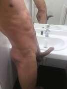 Photos de la bite de Lxxss75, Toilettes publiques :)